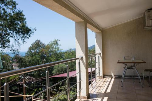 Стандартный двухместный номер с балконом и видом на море-2